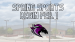 Spring Sports Tryout Information – Tryouts Begin February 1