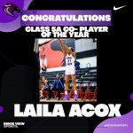 Laila Acox wins 5A Co-Player of The Year!
