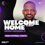 Ridge View High School announces the hiring of Coach Derek Howard II as the new Head Football Coach