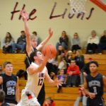 Liberty Union High School Boys Varsity Basketball beat Millersport High School 63-56