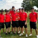Liberty Union High School Boys Varsity Golf finishes 1st place