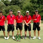 Liberty Union High School Boys Varsity Golf finishes 2nd place