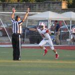 Liberty Union High School Varsity Football beat Caldwell High School 53-6