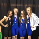 Swim Team Has Strong Showing at Districts