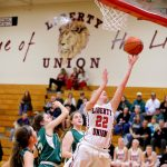 Liberty Union High School Girls Varsity Basketball beat Northridge High School 87-37