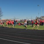 Girls Track Takes Fourth Place at Fairfield Union Invitational