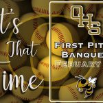 First Pitch Dinner tonight!