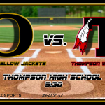 Boys Varsity Baseball falls to Oxford vs Thompson 9 – 5