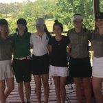Girls Varsity Golf finishes 1st place at Section Tournament