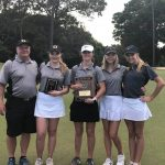Girls Varsity Golf finishes 1st place at Sub-State Tournament