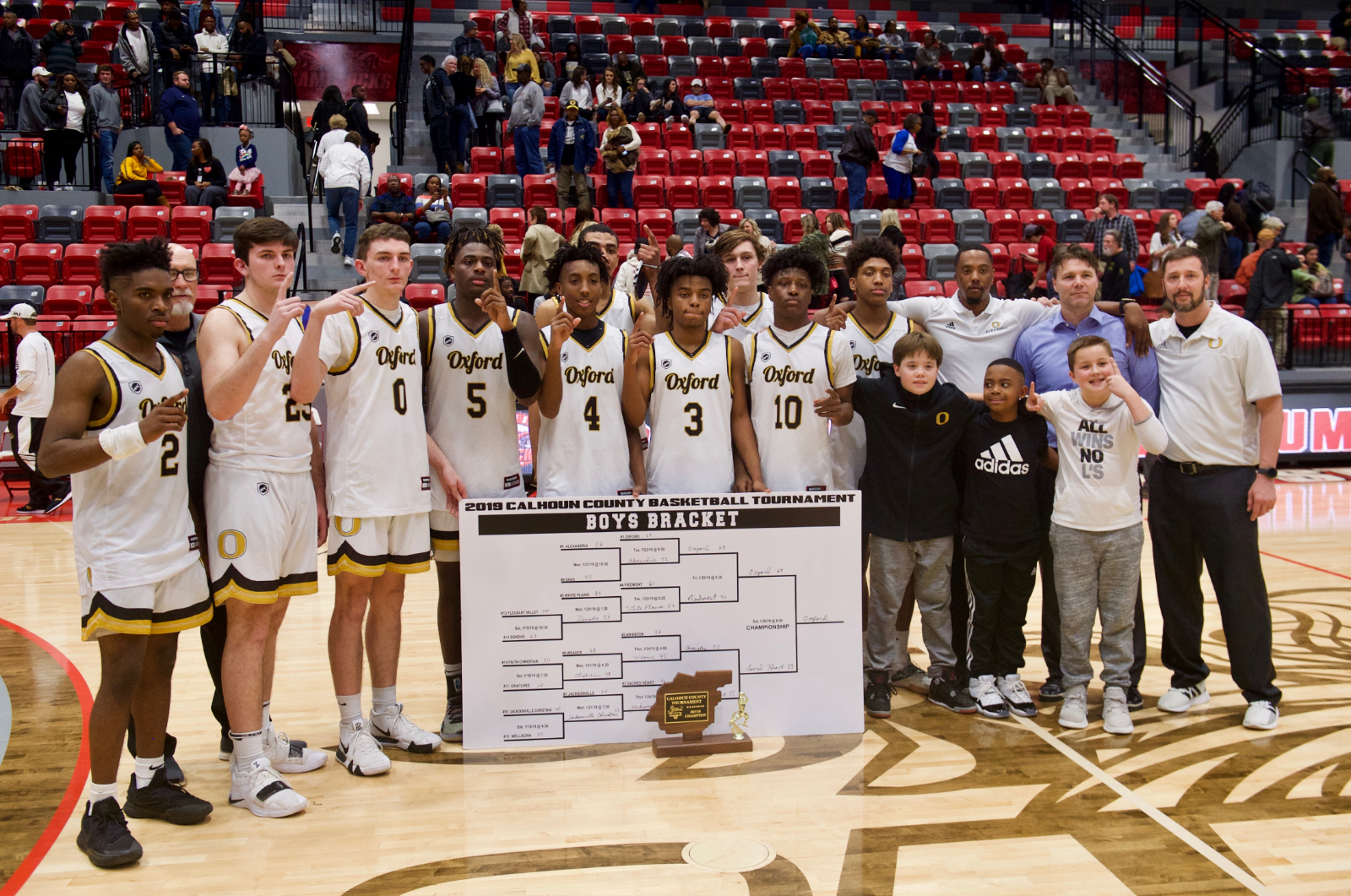 JACKETS 6A AREA 13 CHAMPS – HOST BUCKHORN FOR TRIP TO REGIONALS