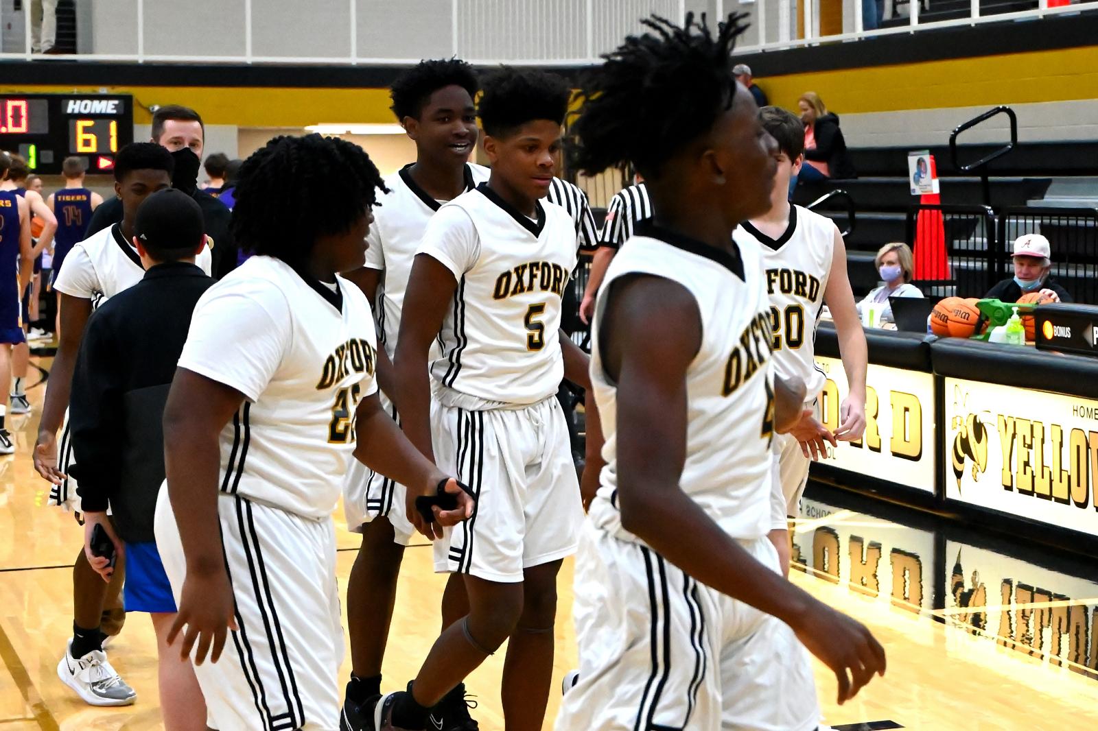 9th Basketball vs Springville
