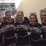 BCHS All Girl Stunt Group qualifies for State!