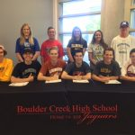 Congratulations to our Senior Athletes playing at the next level!