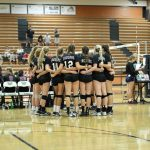 Boulder Creek High School Girls Varsity Volleyball beat Desert Mountain High School 3-1