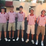 Boulder Creek High School Boys Varsity Golf finishes 1st place