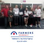 Thank You Farmers Insurance, Hottman Agency, for Sponsoring BCHS October and November Athletes of the Month!