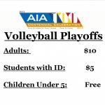 Boys Volleyball Play-off game tonight!