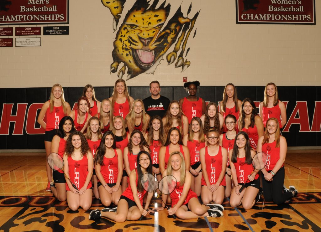 2017-2018 Girls Badminton Team