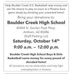Boys and Girls Basketball Fundraiser October 14th. Pass it Forward!