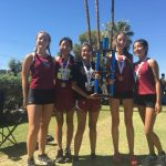 Girls Varsity Cross Country finishes 1st at the Doug Conley Invitational