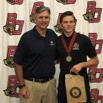 BCHS Athlete Honored
