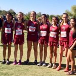 Girls Varsity Cross Country team competes at State Championships