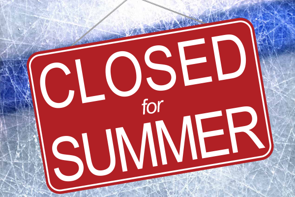 Athletics Office Closed For The Summer