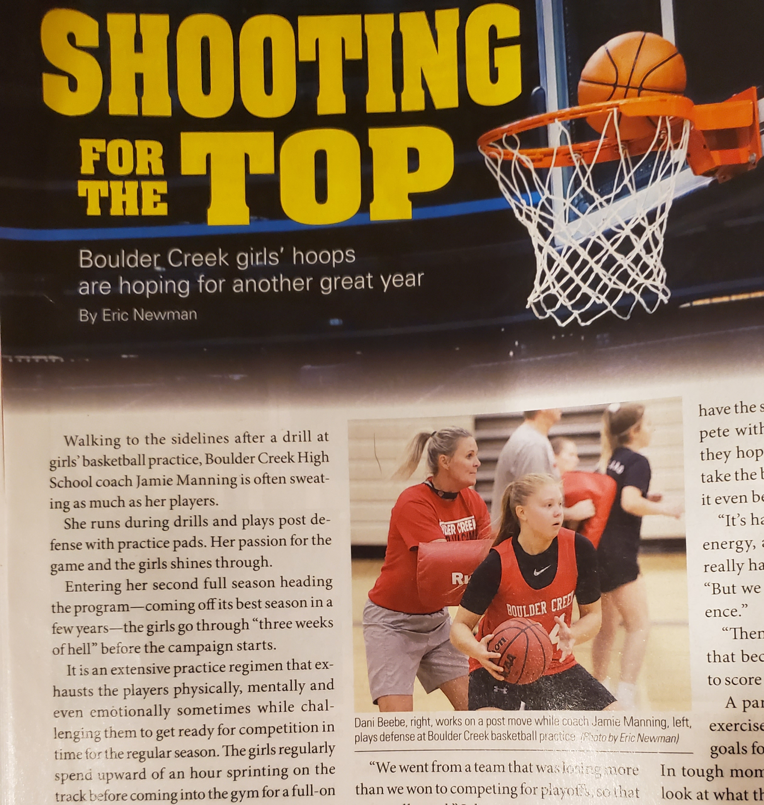 Lady Jags in the local 85086 Magazine