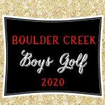 Boys Varsity Golf 2020~2021