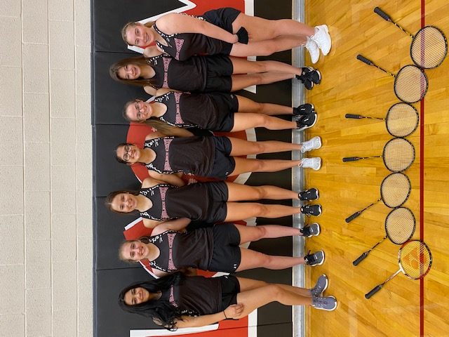 Lady Jags Badminton off to a great start.