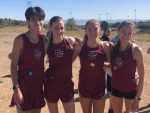 Girls Varsity Cross Country finishes 3rd place at Ray Wherley Invitational