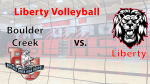 Girls Volleyball vs. Liberty today 4pm/5pm/6pm Livestream Info