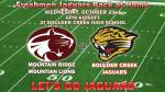 Freshman Football faces Mountain Ridge tonight……