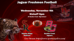 Freshman Football faces Shadow Ridge tonight…