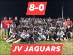 Undefeated!!  Congrats JV on an amazing season!