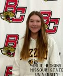Congratulations to Julie Huggins on signing with University of Missouri.