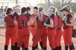 Varsity Softball plays at home against Chaparral.