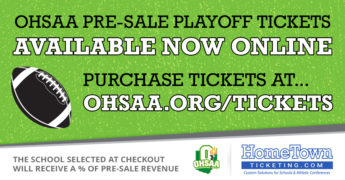 Round 2 Shoremen Football Pre-Sale Playoff Tickets