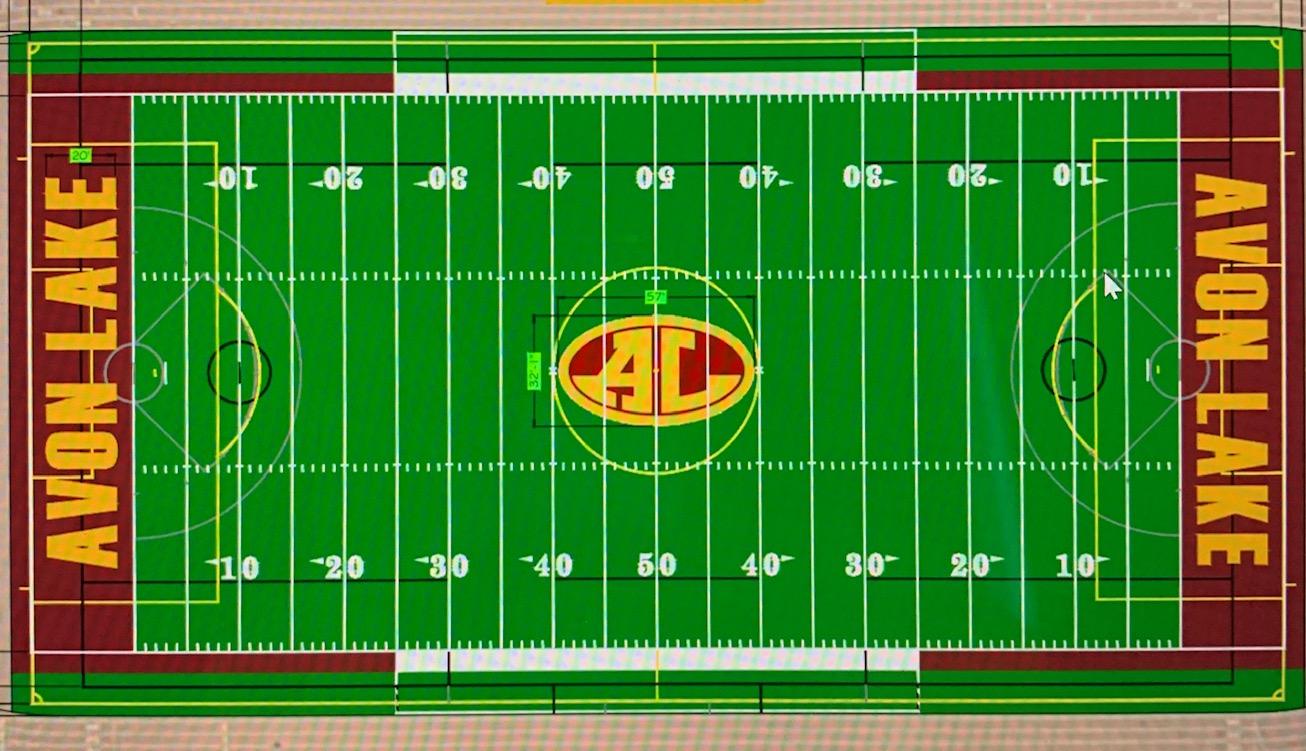 New Stadium Turf Project Underway