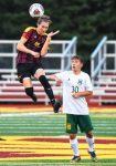 Boys Varsity Soccer downs Amherst 5 – 0