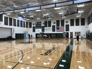 Check out our new gym