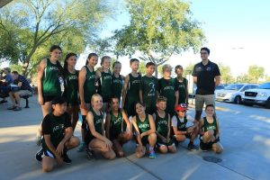 cross country girls and boys team
