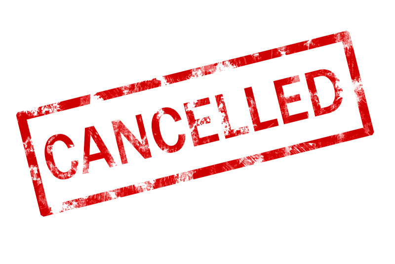 Weather Related Cancellations for 2/14
