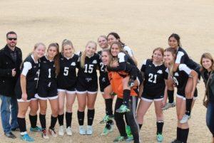 soccer girl's team