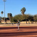baseball player pitches