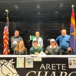 Football's Brennan Weir Signs With Illinois Wesleyan Univeristy