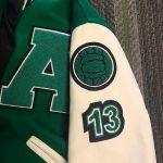 Arete Prep letterman jacket