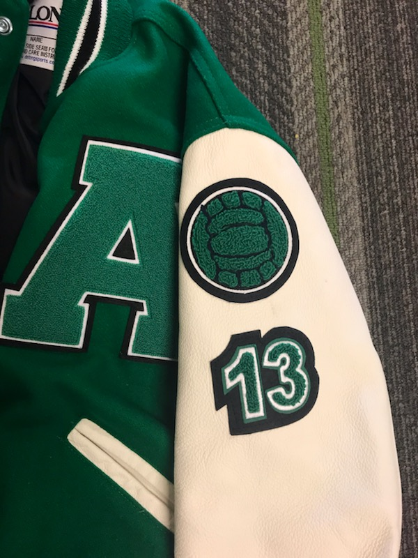 Varsity Jackets Starting to Show Up on Campus!