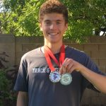 Whitehead Sets New 3200 Marks at Small School Invite